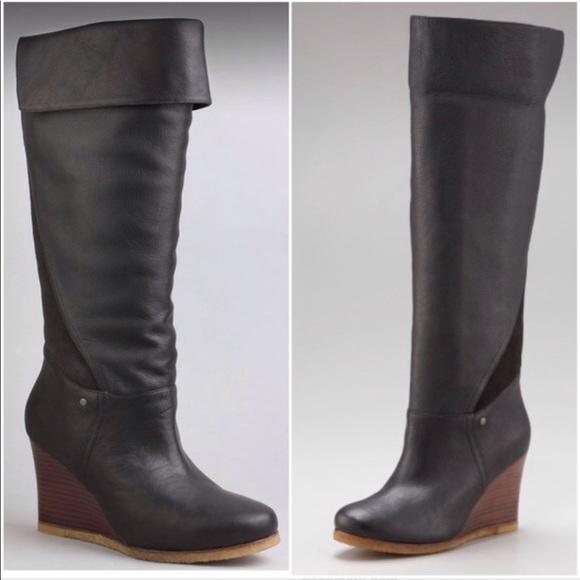 d0de2bf14e1 Ugg Ravenna Tall wedge heel over the knee boots